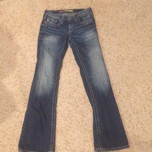 Big Star jeans sz 26R low rise Remy
